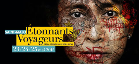 Étonnants Voyageurs à Saint-Malo du 23 au 25 mai 2015